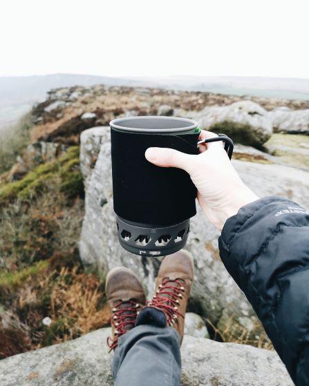 Llun o gwpan coffi