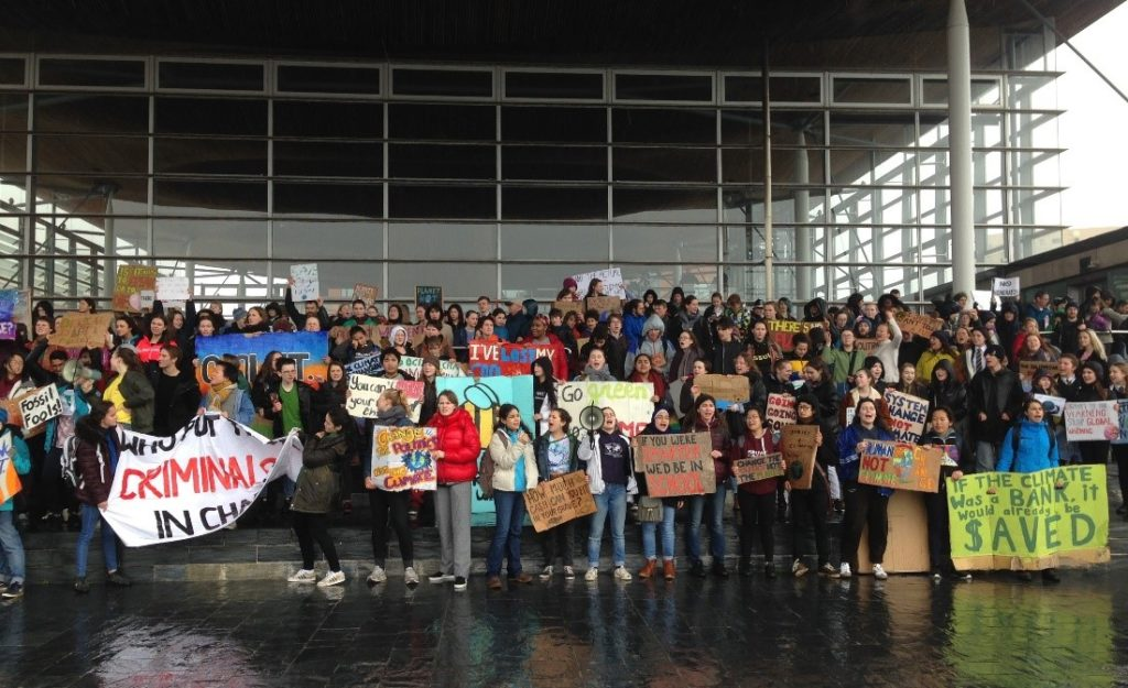Cardiff youth climate strike