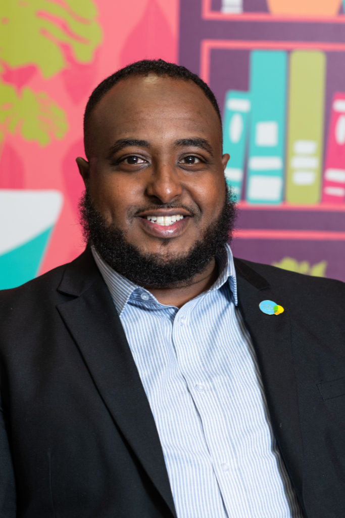 Ali Abdi, Citizens Cymru Wales and Cardiff University Community Gateway