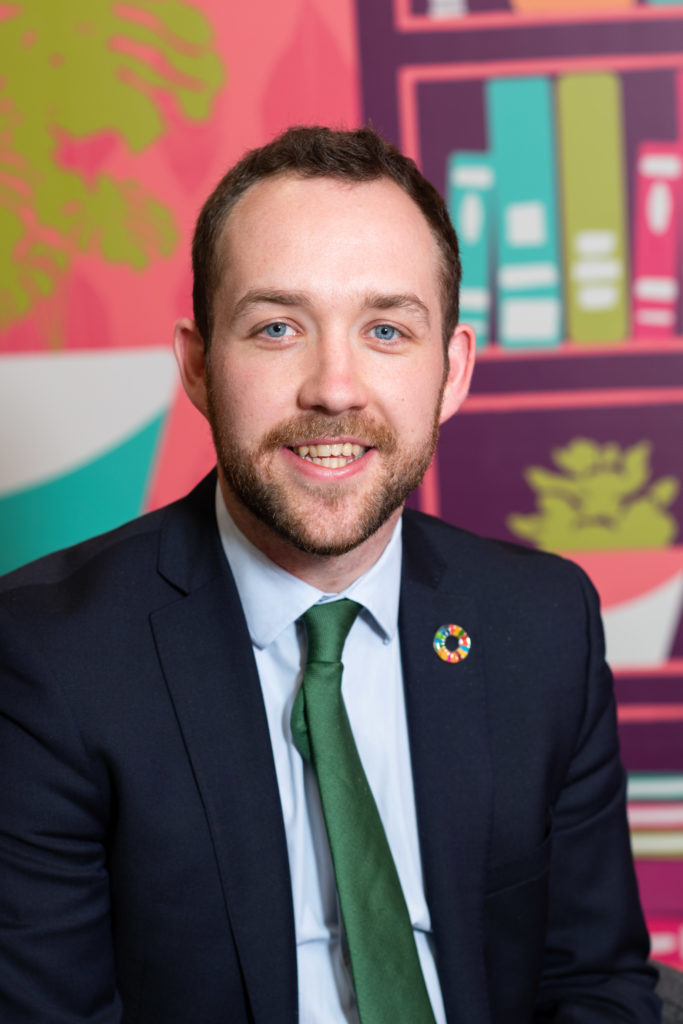 Jacob Ellis, Change Maker Lead: Public Affairs and International, Office of the Future Generations Commissioner for Wales