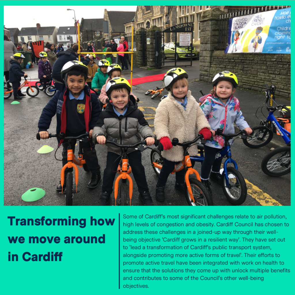 Transforming how we move around in Cardiff