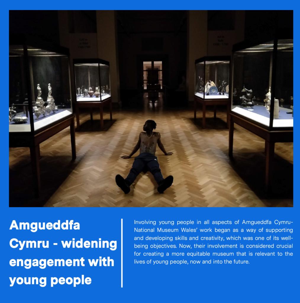 Amgueddfa Cymru – Widening engagement with young people